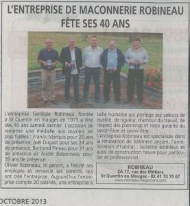 Revue de presse 27 2013
