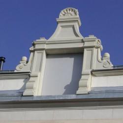 rénovation d'éléments de façade en tuffeau - Après.