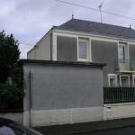façade à renover à Trélazé