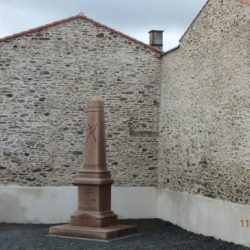 Deplacement du monument aux morts